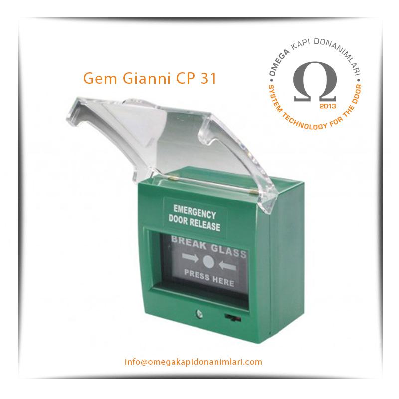 Gem Gianni CP 31 Acil Çıkış Butonu