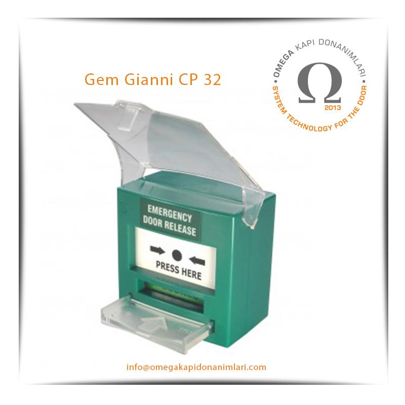 Gem Gianni CP 32 Acil Çıkış Butonu