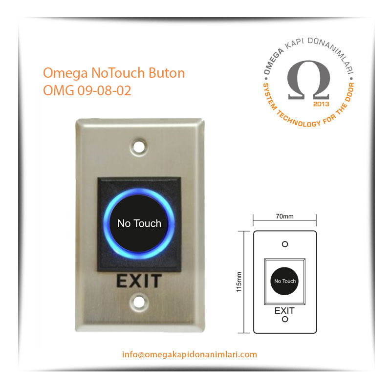 Omega NoTouch Buton OMG 09-08-02