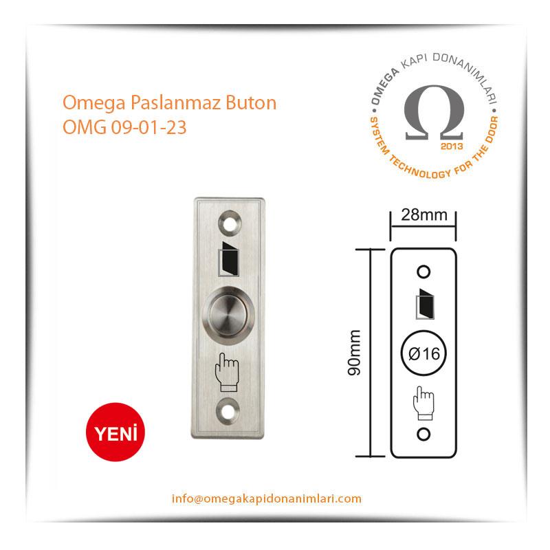 Omega Paslanmaz Buton OMG 09-01-23
