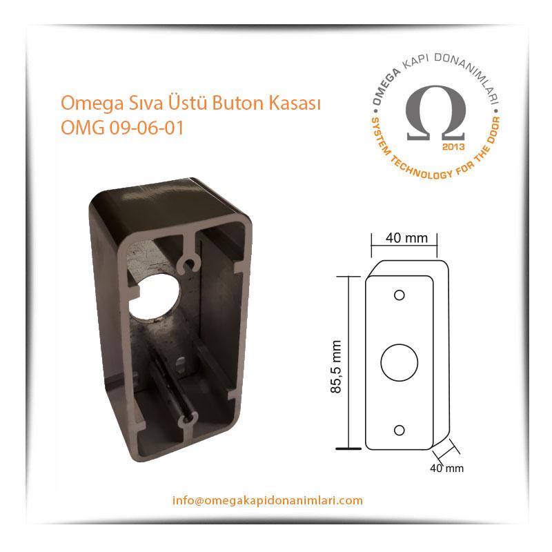 Omega Sıva Üstü Buton Kasası OMG 09-06-01