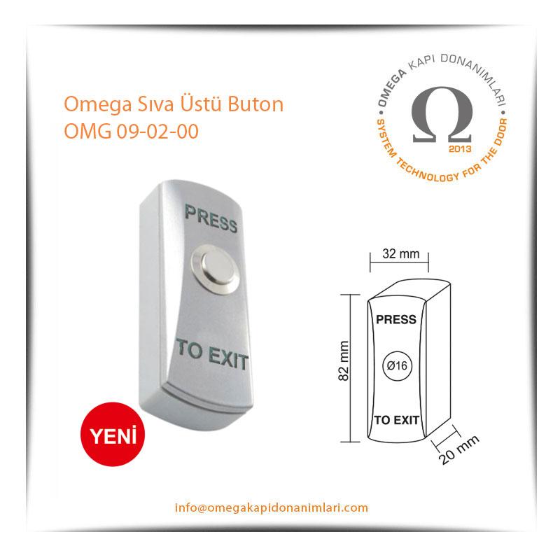Omega Sıva Üstü Buton OMG 09-02-00