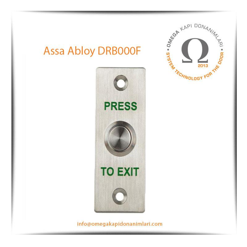 Assa Abloy DRB000F Paslanmaz Çıkış Butonu Gömme Tip