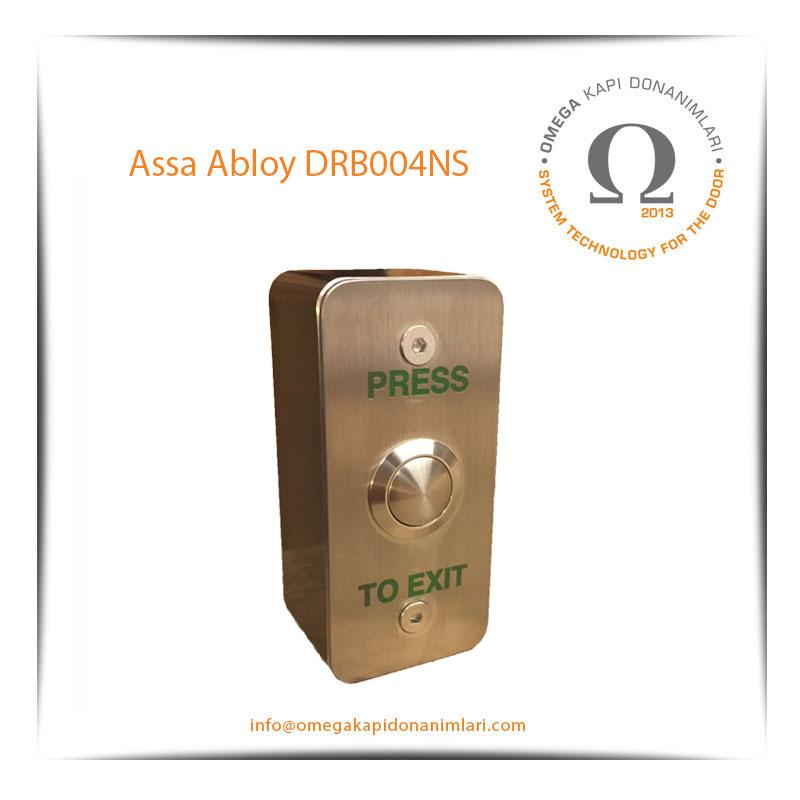 Assa Abloy DRB004NS Paslanmaz Çıkış Butonu Yüzey Tip