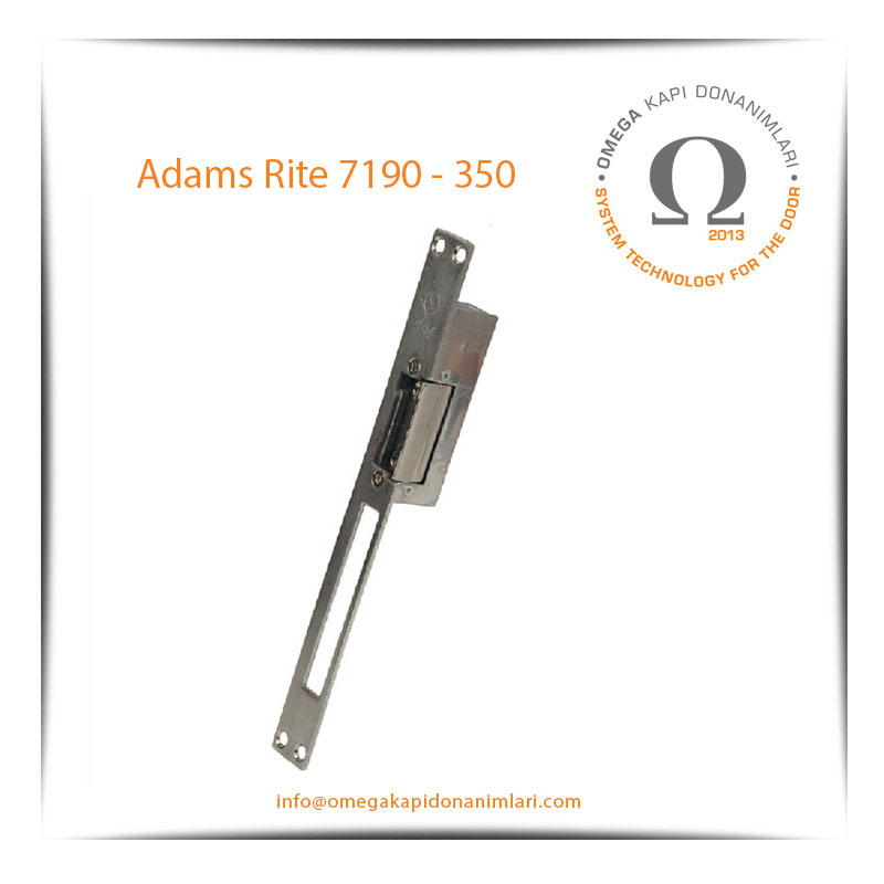 Adams Rite 7190-350 Elektrikli Kilit Karşılığı Bas Aç