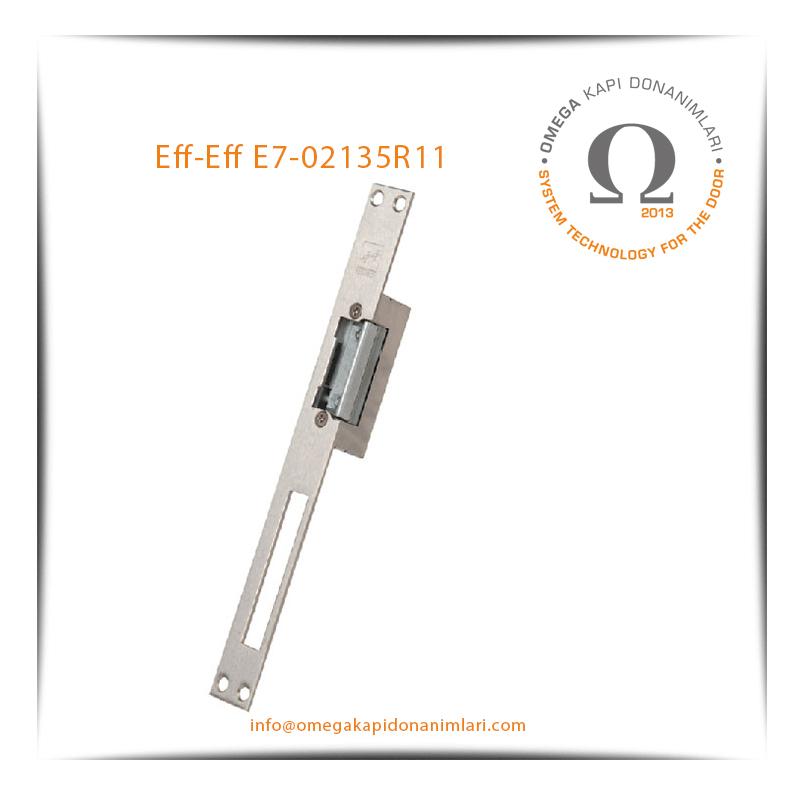 Eff- Eff E7-02135R11 Elektrikli Kilit Karşılığı Bas Aç