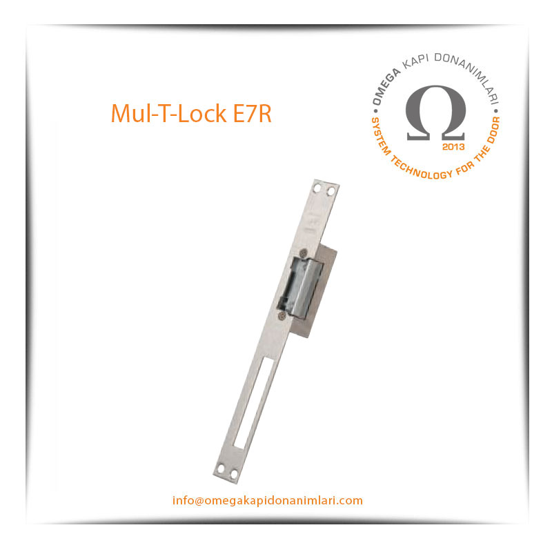 Mul T Lock E7R Elektrikli Kilit Karşılığı Bas Aç