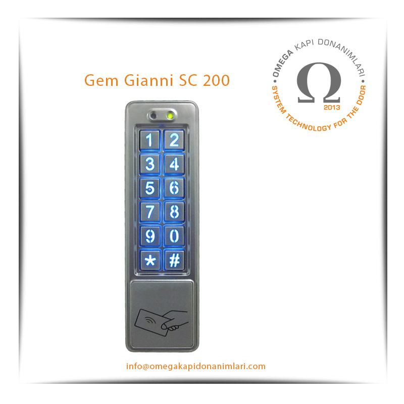 Gem Gianni SC 200 Geçiş Kontrol Sistemi