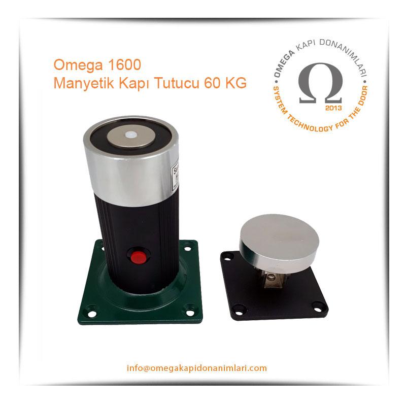 Omega 1600 Manyetik Kapı Tutucu 60 KG