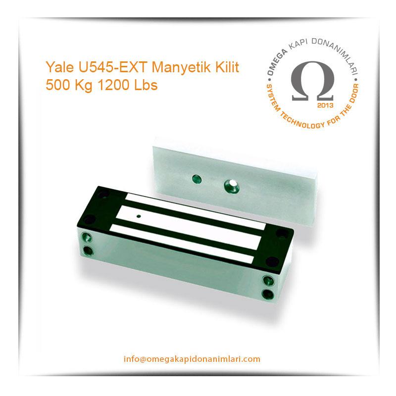 Yale U545-EXT Manyetik Kilit 500 Kg 1200 Lbs