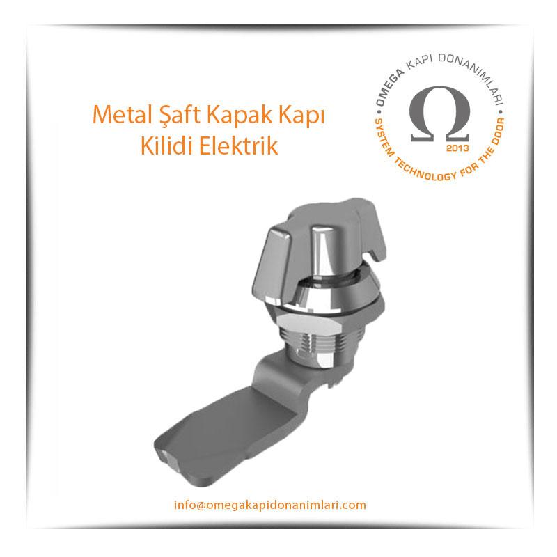 Metal Şaft Kapak Kapı Kilidi Elektrik