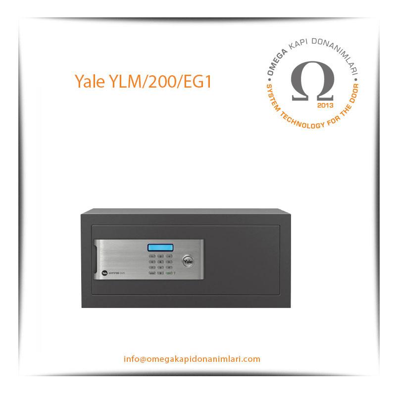 Yale Güvenlik Sertifikalı Kasa Laptop Tipi YLM 200 EG1