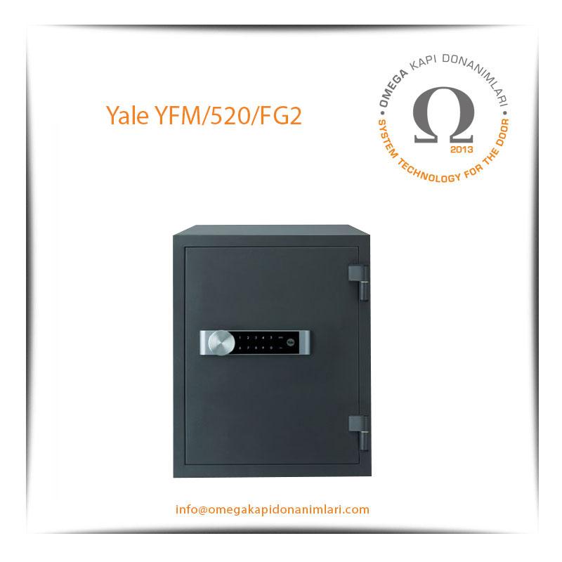Yale Yangın Sertifikalı Kasa Ekstra Büyük Boy YFM 520 FG2