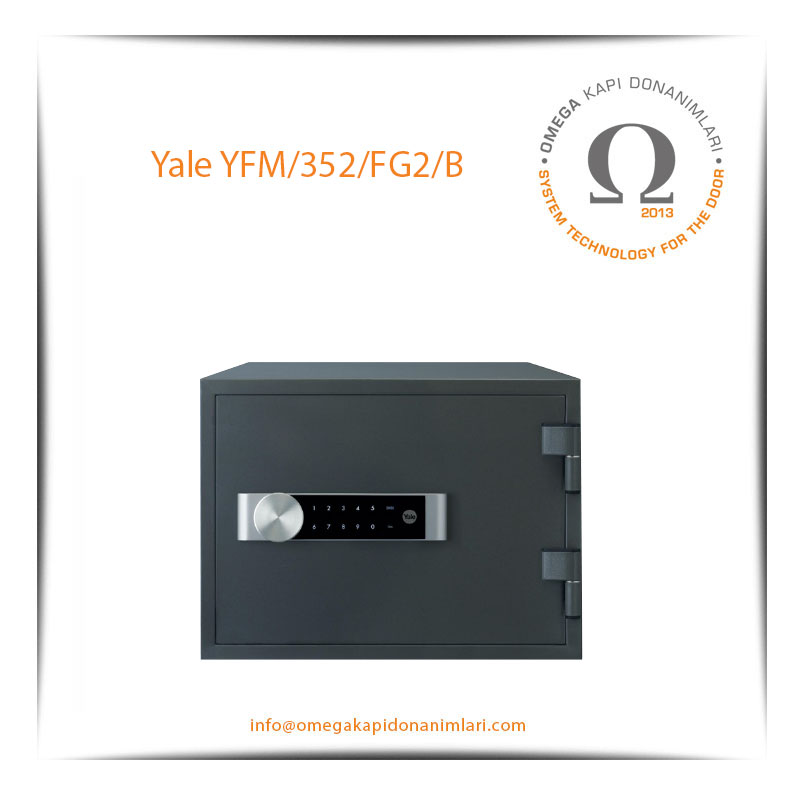 Yale Yangın Sertifikalı Kasa Orta Boy YFM 352 FG2 B
